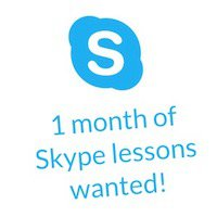Skype Wanted Sign